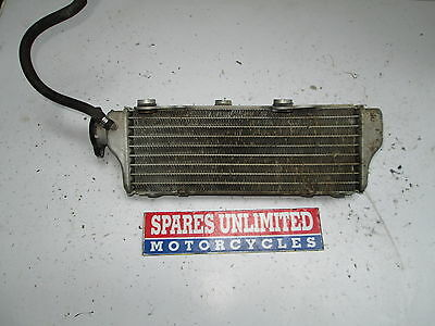 Husqvarna / Husky WRE125 WRE 125 07 Right Radiator - Read Description