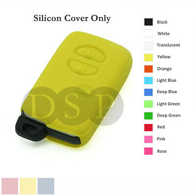 Silicone Cover Holder fit for TOYOTA Smart Remote Key Case Fob Entry 3 B 12C YL