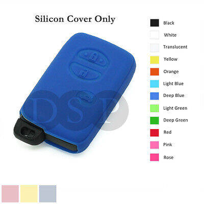 Silicone Cover Holder fit for TOYOTA Smart Remote Key Case Fob Entry 3 B 12C DB