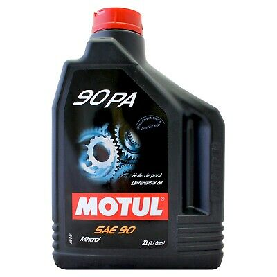 Motul 90 PA Lubricant Limited Slip Differential (LSD) Extreme pressure 2 litres