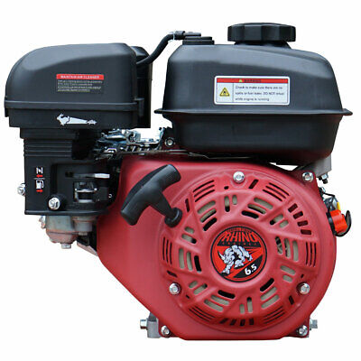 New 6.5HP Gas Engine Motor Recoil Start Fast FedEx Free Shipping! Horizontal