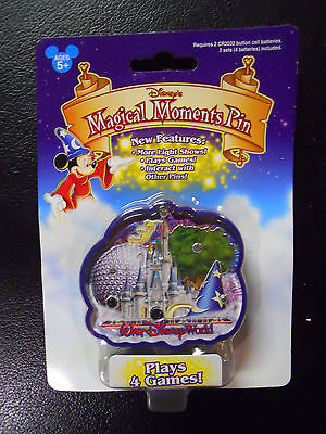 STILL SEALED! Walt Disney World Magical Moment Electronic Game Pin