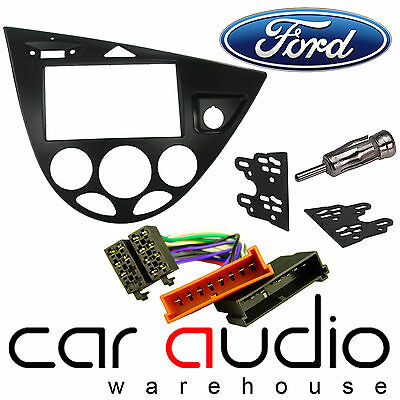 Ford Focus MK1 1999-05 Car Stereo Double DIN Facia Fascia Plate ISO Fitting Kit