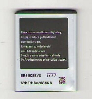 NEW BATTERY FOR SAMSUNG i777 GALAXY S 2 II SGH-i777 AT&T
