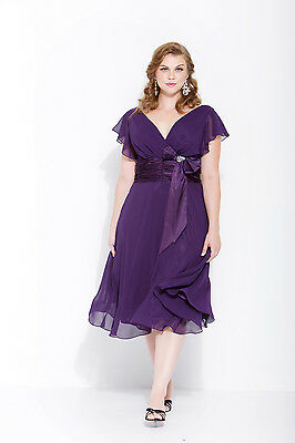 HOMECOMING EVENING DRESSES Short Mother Of Bride Groom Plus Size ...