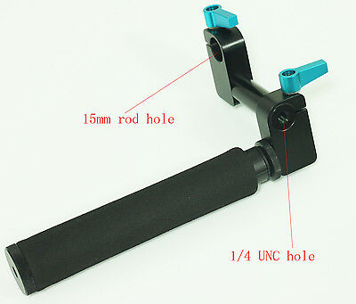 """camera Grip with rod clamp for 15mm rod rig rail support 2""""  for 5D2 5D3 SYSTEM"""