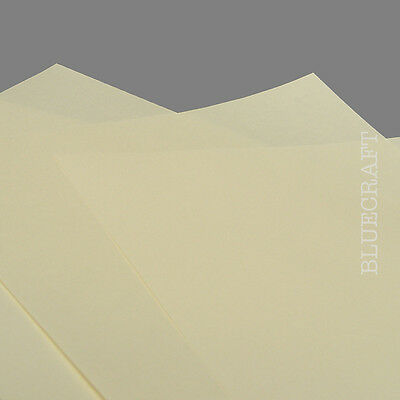 50 x Ivory A4 Card Blank Paper Wedding Invite Inserts 100gsm