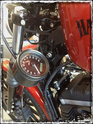Speedometer Relocation Kit Speedo Fits Harley Sportster Dk Custom Products