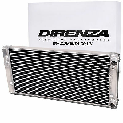 Direnza Aluminium Alloy 45Mm Radiator Rad For Vw Golf Mk3 2.0 Gti 8V 16V 92-98