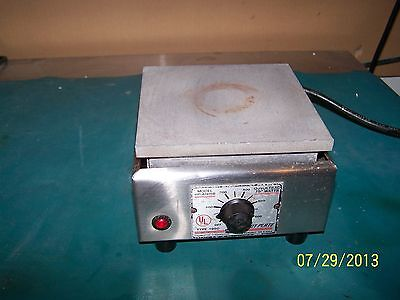 "BARNSTEAD THERMOLYNE Aluminum 6.25"" x 6.25""  Top Hot Plate Model HP-A1915B"