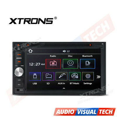 """XTRONS 6.2"""" Touch Screen Double 2 DIN In Dash Car CD DVD Player Bluetooth MP3"""