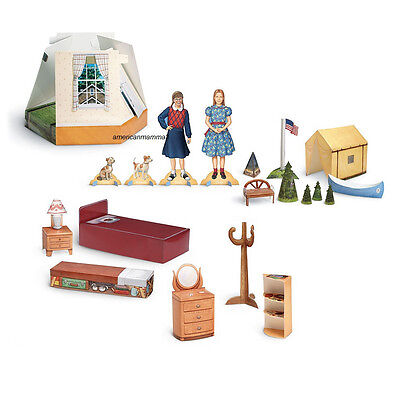 American Girl MOLLY POP UP PLAY SCENES & PAPER DOLLS for Girls Molly's NEW