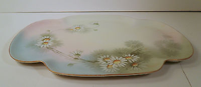 "LOVELY HAND PAINTED TRAY BY ""FAVORITE""  BAVARIA - DAISIES DAISY"