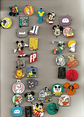 Disney Pin Lot 100-200-300-400-500 U Pick Quantity Free Priority (2-3) Day Ship