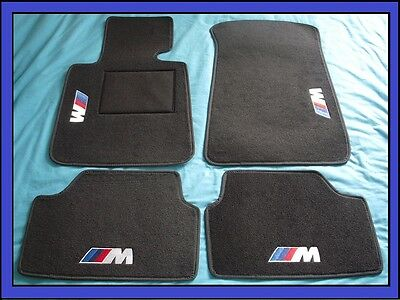 tapis qualit bmw s rie 1 3 5 6 7 8 m m3 m5 e32 e34 e36 e39 e90 e91 e92 e46 eur 112 50. Black Bedroom Furniture Sets. Home Design Ideas