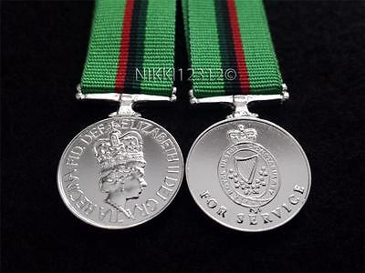 Miniature Royal Ulster Constabulary (Ruc) Medal Pre 2001 Superb Quality