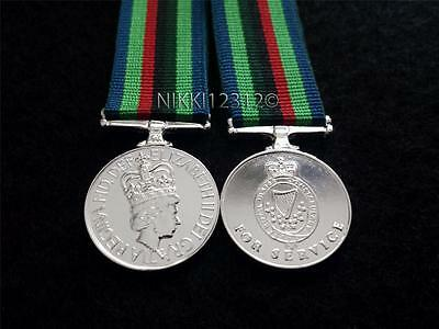 Miniature Royal Ulster Constabulary (Ruc) Medal Post 2001 Superb Quality