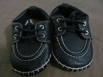 New Baby Boy's The Children's Place Boat Shoes Loafers Blue 6-12 Months 6-12M