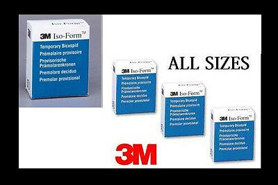 Iso-Form Temporary Crowns - 3M / ESPE - Box of 5 - Crown Forms - U-72
