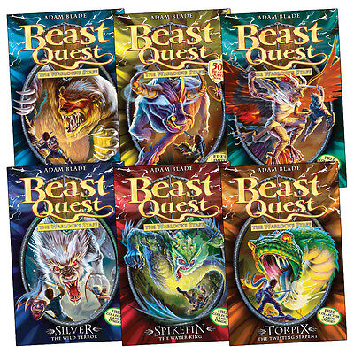 Beast Quest Pack: Series 9 (6 books) RRP £29.94