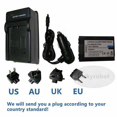 Mains Battery Charger Sony DCR SX33