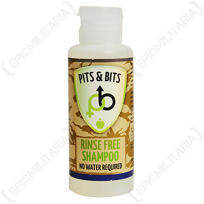 Waterless Shampoo Apple Scented 65ml Camping and Festival Ready No Water Needed