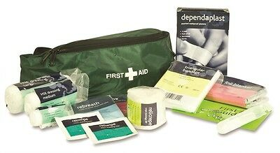 Horse Riding Dog Walking Outdoor Pursuits School Sports First Aid Kit in Bum Bag