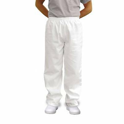 Portwest 2208 - White Bakers Food Industry Work Trousers - Various Sizes