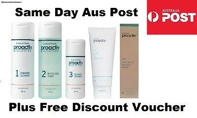 PROACTIV 5 PIECE/STEP 60 DAY FULL SET Proactive Toner Lotion Cleanser 3 4 6