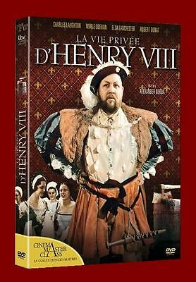 Dvd La Vie Privee D'henry Viii Edition Remasterisee  Neuf Direct Editeur