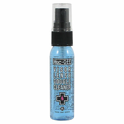 Muc-Off Visor, Lens and Goggle Cleaner - 30ml pump spray