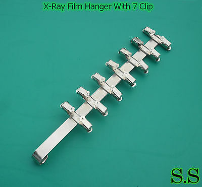 3 Pieces Dental X-ray Film Hanger With 7 Clip (Dental Supply)