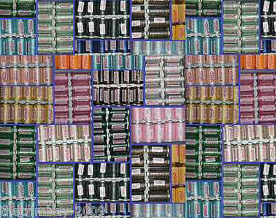 120s Sewing Machine Polyester Thread Reels of 500yd  22 COLOURS