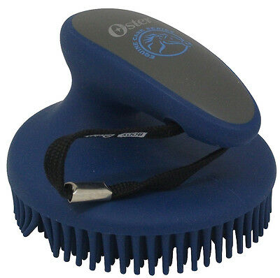 Oster Fine Curry Comb Blue - Horse/Pony Grooming