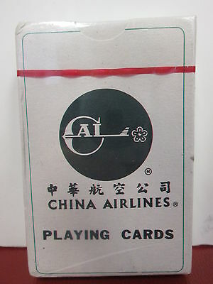 Vintage - China Airlines Playing Cards - We Treasure Each Encounter - Unopened