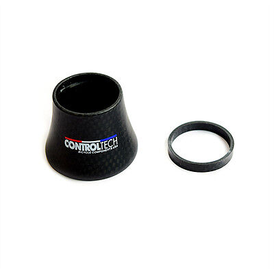 """Controltech COMP-TS HSS-06 1-1/8"""" Carbon Fiber Bike Bicycle Headset Spacer 35mm"""