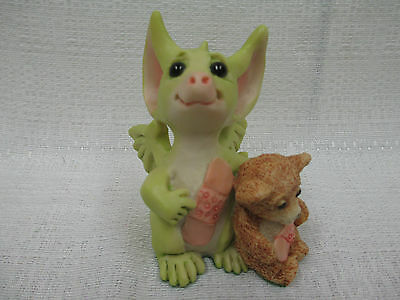 Whimsical World Of Pocket Dragons We're Very Brave Real Musgrave NIB