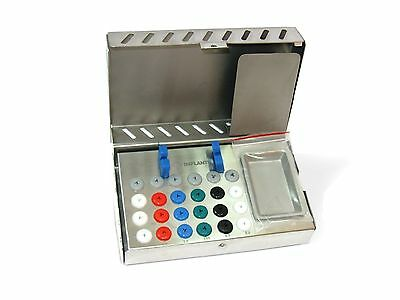 Dental Surgical Instruments - Empty Sterilization Box for Surgical Implant Tools