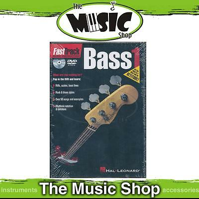 New Fasttrack Bass 1 DVD - Fast Track Bass Guitar Tuition DVD