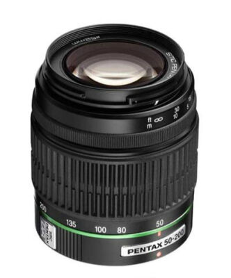 Pentax smc P-DAL  50-200mm 50-200 ED Lens KIT K5 KR KX K7 K5D K20 + 3 filters ++