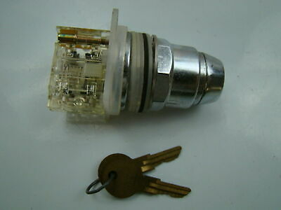 Square D 120V Type KA-1 Class 9901 Selector Switch