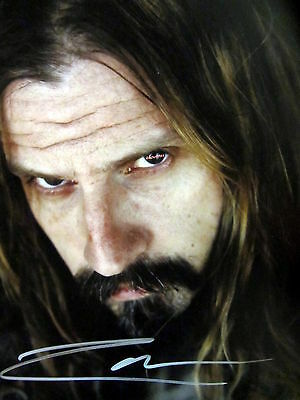 """ROB ZOMBIE SIGNED 8""""X10"""" PHOTO RP"""