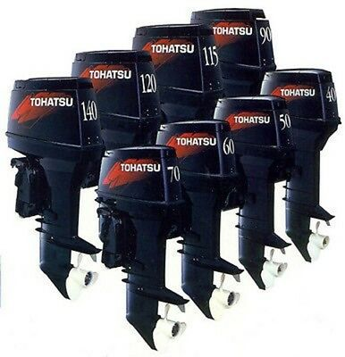 Tohatsu Outboard 2 Stroke 1 And 2 Cyl Boat Engine Service Repair Workshop Manual