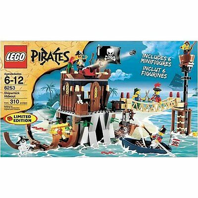 LEGO 6253 Lego Pirates Exclusive Limited Ed. Set # Shipwreck Hideout