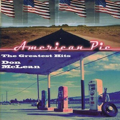 DON McLEAN AMERICAN PIE: THE GREATEST HITS CD (2000)