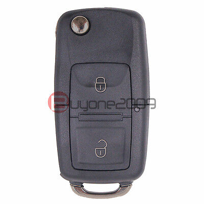 1J0 959 753 Ct New Flip Key Remote Transmitter For 2002-2005 Volkswagen Polo Mk4