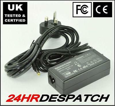 New Replacement For Gateway 3018Gz 65W Adaptor Power Supply With Lead