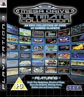 SEGA Mega Drive Ultimate Collection PS3 GAME PAL *VGWC!* + Warranty!