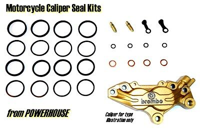 Ducati ST4 99-03 front brake caliper seal repair kit 1999 2000 2001 2002 2003