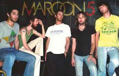MAROON 5 GROUP POSE MUSIC POSTER PRINT NEW 22x34 FREE SHIPPING